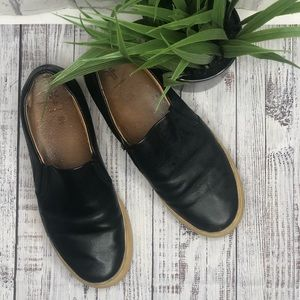 FRYE all leather slip on sneakers. Size 6.5